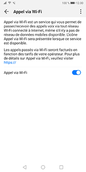 Huawei Mate 10 Pro - Android Pie - WiFi - Activez WiFi Calling - Étape 9
