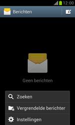 Samsung S7560 Galaxy Trend - SMS - Handmatig instellen - Stap 5
