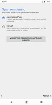 Sony Xperia XZ3 - E-Mail - Konto einrichten (outlook) - Schritt 14