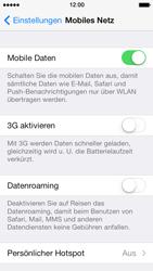 Apple iPhone 5 - Netzwerk - Netzwerkeinstellungen ändern - 5 / 5