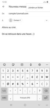 Samsung Galaxy Note20 Ultra 5G - E-mails - Envoyer un e-mail - Étape 11