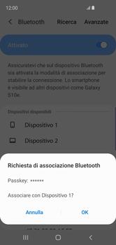 Samsung Galaxy S10e - Bluetooth - Collegamento dei dispositivi - Fase 8