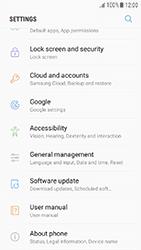 Samsung Galaxy J3 (2017) - Device - Factory reset - Step 5