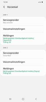 Samsung Galaxy S20 5G Dual-SIM eSIM SM-G981B - Voicemail - Handmatig instellen - Stap 7