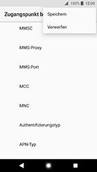 Sony Xperia XA2 - MMS - Manuelle Konfiguration - 16 / 26