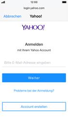 Apple iPhone SE - iOS 13 - E-Mail - Konto einrichten (yahoo) - Schritt 6