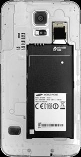 Samsung Galaxy S5 - SIM-Karte - Einlegen - 5 / 8