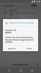 Sony Xperia Z1 - Bluetooth - Geräte koppeln - Schritt 9