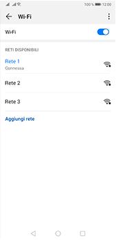 Huawei P20 Pro - Android Pie - WiFi - Configurazione WiFi - Fase 8