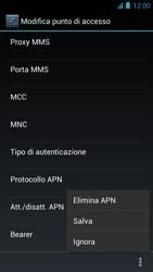 Alcatel One Touch Idol - Internet e roaming dati - configurazione manuale - Fase 16