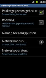 Samsung I9070 Galaxy S Advance - internet - data uitzetten - stap 6