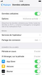 Apple iPhone 6 - iOS 11 - Internet et connexion - Désactiver la connexion Internet - Étape 4