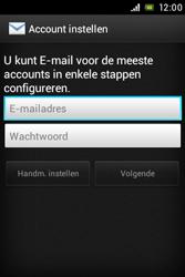 Sony ST23i Xperia Miro - e-mail - handmatig instellen - stap 5