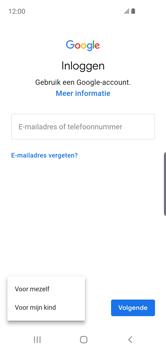 Samsung Galaxy S10e - apps - account instellen - stap 6
