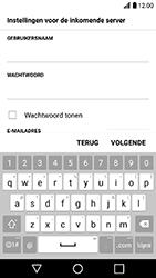 LG K10 (2017) (M250n) - E-mail - Account instellen (IMAP zonder SMTP-verificatie) - Stap 11