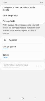 Samsung Galaxy A51 5G - Internet et connexion - Partager votre connexion en Wi-Fi - Étape 8