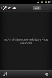 Sony Xperia E - WLAN - Manuelle Konfiguration - Schritt 5