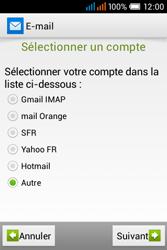 Alcatel OT-4015X Pop C1 - E-mails - Ajouter ou modifier un compte e-mail - Étape 6