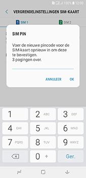 Samsung galaxy-a6-sm-a600fn-ds - Beveiliging en ouderlijk toezicht - Hoe wijzig ik mijn SIM PIN-code - Stap 11