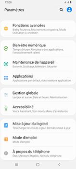 Samsung Galaxy A80 - Prise en main - Comment ajouter une langue de clavier - Étape 4
