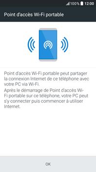 HTC Desire 825 - Internet et connexion - Partager votre connexion en Wi-Fi - Étape 7
