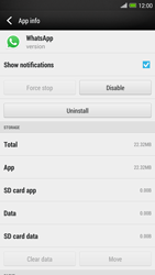 HTC One Max - Applications - How to uninstall an app - Step 6