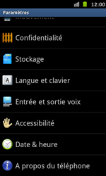 Samsung Galaxy S Advance - Logiciels - Installation de mises à jour - Étape 5