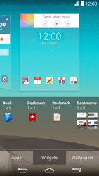 LG G3 - Getting started - Installing widgets and applications on your start screen - Step 7