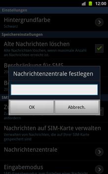 Samsung N7000 Galaxy Note - SMS - Manuelle Konfiguration - Schritt 5