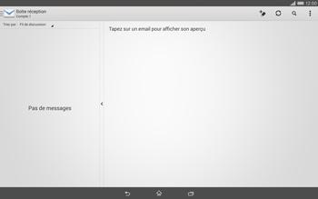 Sony Xperia Tablet Z2 LTE - E-mail - configuration manuelle - Étape 4
