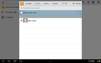 Samsung P5100 Galaxy Tab 2 10-1 - E-mail - envoyer un e-mail - Étape 6