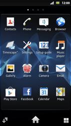 Sony MT27i Xperia Sola - E-mail - Manual configuration - Step 3