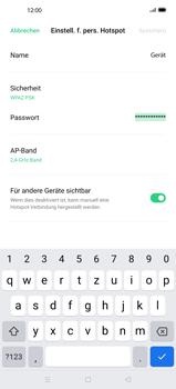 Oppo Find X2 Pro - WiFi - So aktivieren Sie einen WLAN-Hotspot - Schritt 9