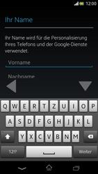Sony Xperia V - Apps - Einrichten des App Stores - Schritt 5