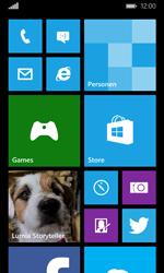 Microsoft Lumia 532 - SMS - handmatig instellen - Stap 1