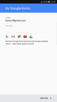Samsung Galaxy S6 edge+ - Apps - Konto anlegen und einrichten - 16 / 21