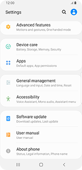 Samsung Galaxy S9 - Android Pie - Software - Installing software updates - Step 5