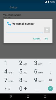 Motorola Nexus 6 - Voicemail - Manual configuration - Step 10