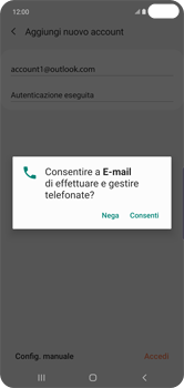 Samsung Galaxy S10 Plus - E-mail - 032c. Email wizard - Outlook - Fase 10