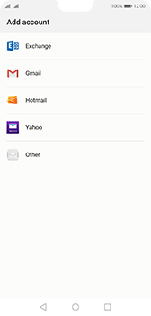 Huawei P20 - Android Pie - E-mail - 032c. Email wizard - Outlook - Step 4