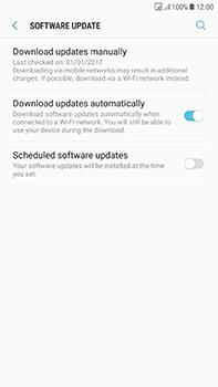 Samsung Galaxy J7 (2017) - Device - Software update - Step 6