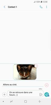 Samsung Galaxy S9 - Contact, Appels, SMS/MMS - Envoyer un MMS - Étape 19