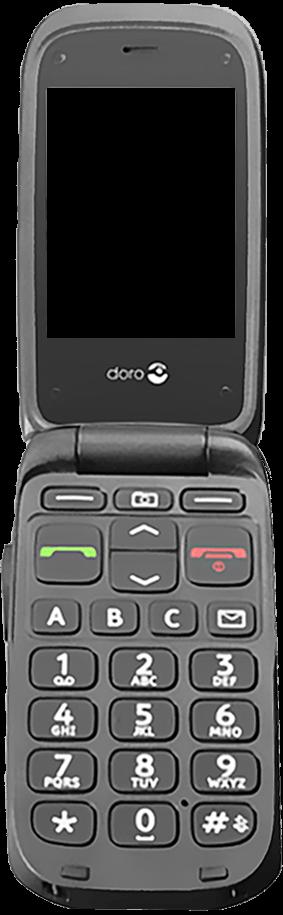 Doro Phone Easy 612 - Premiers pas - Découvrir les touches principales - Étape 4