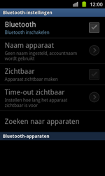 Samsung I8530 Galaxy Beam - bluetooth - headset, carkit verbinding - stap 6