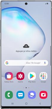 Samsung Galaxy Note 10 Plus 5G - Téléphone mobile - Comment effectuer une réinitialisation logicielle - Étape 2