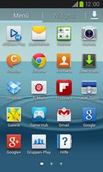 Samsung I9105P Galaxy S2 Plus - SMS - Manuelle Konfiguration - Schritt 3