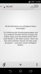 Sony Xperia E3 - WLAN - Manuelle Konfiguration - 5 / 9