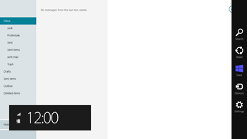 Asus VivoTab Smart LTE - E-mail - Manual configuration - Step 19