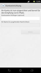 Sony Xperia T - E-Mail - Manuelle Konfiguration - Schritt 15