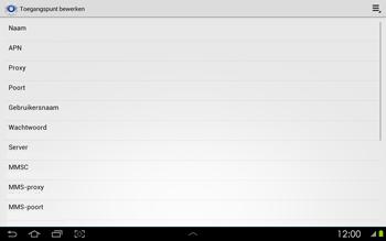 Samsung P5100 Galaxy Tab 2 10-1 - Internet - buitenland - Stap 9